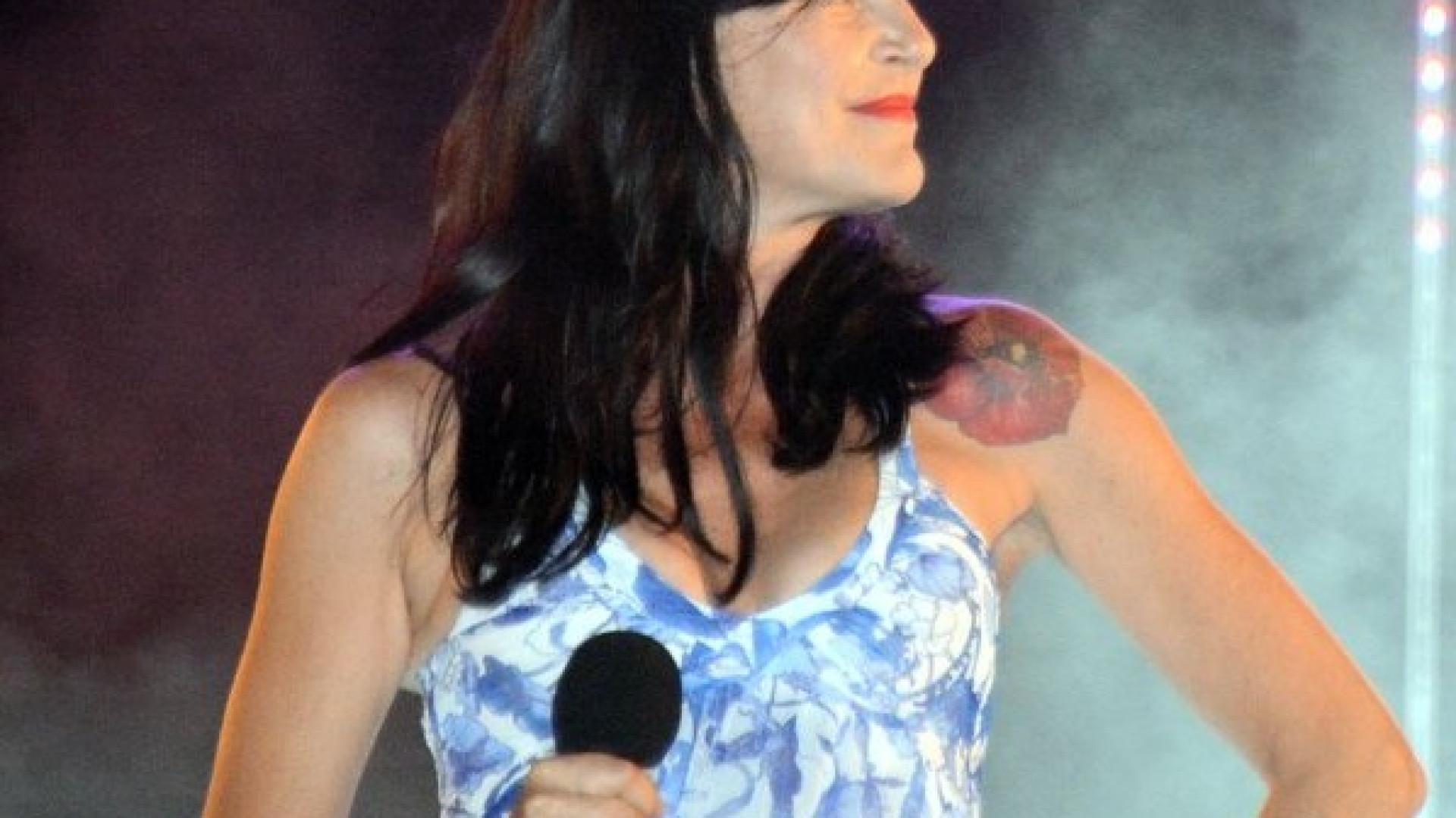 Portuguesa Lio, antiga estrela da pop francófona, grava mais um álbum