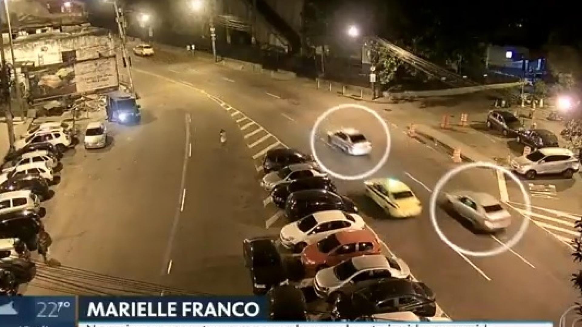 Imagens mostram carro de Marielle Franco a ser perseguido