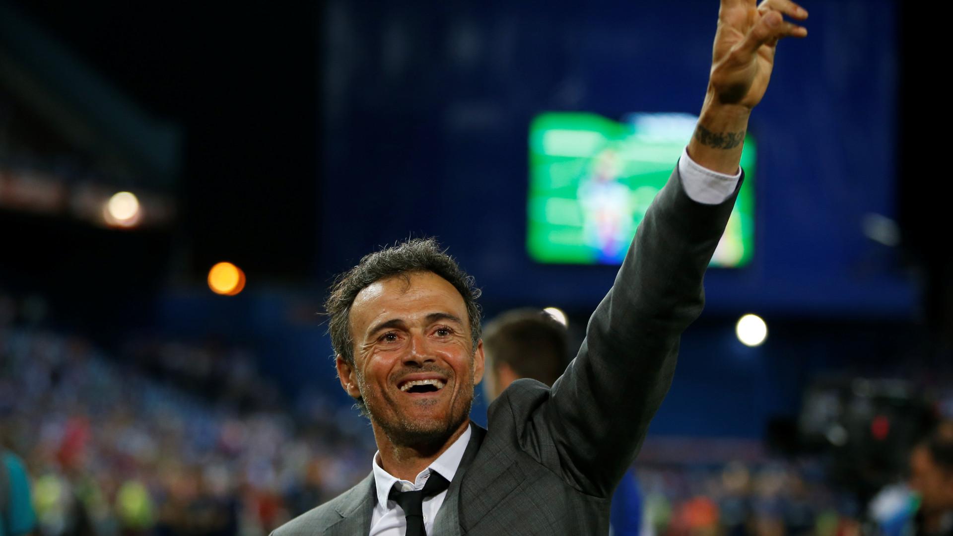 Oficial: Luis Enrique é o novo selecionador espanhol