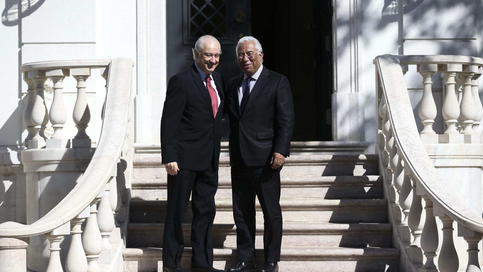 António Costa e Rui Rio em Bruxelas em semana de 'cimeira da primavera'