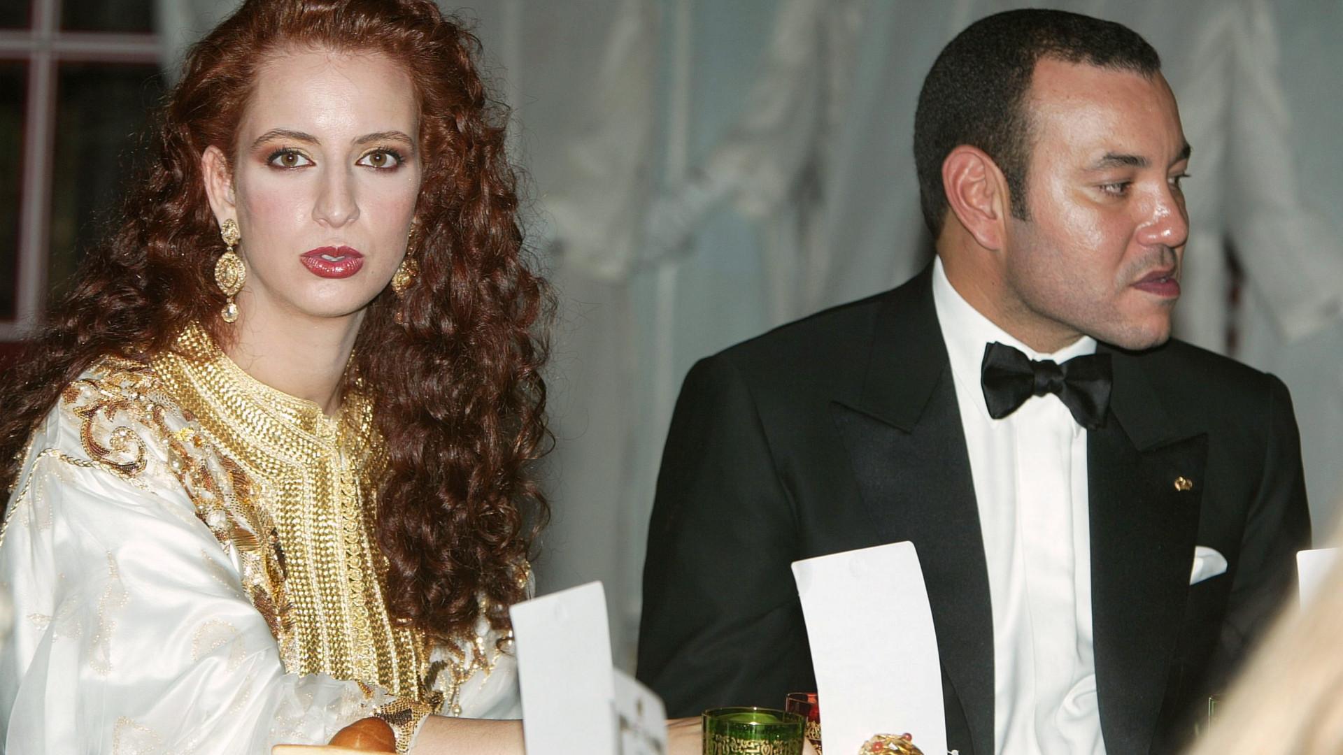 Após 16 anos de casamento, Rei de Marrocos e princesa Lalla separam-se