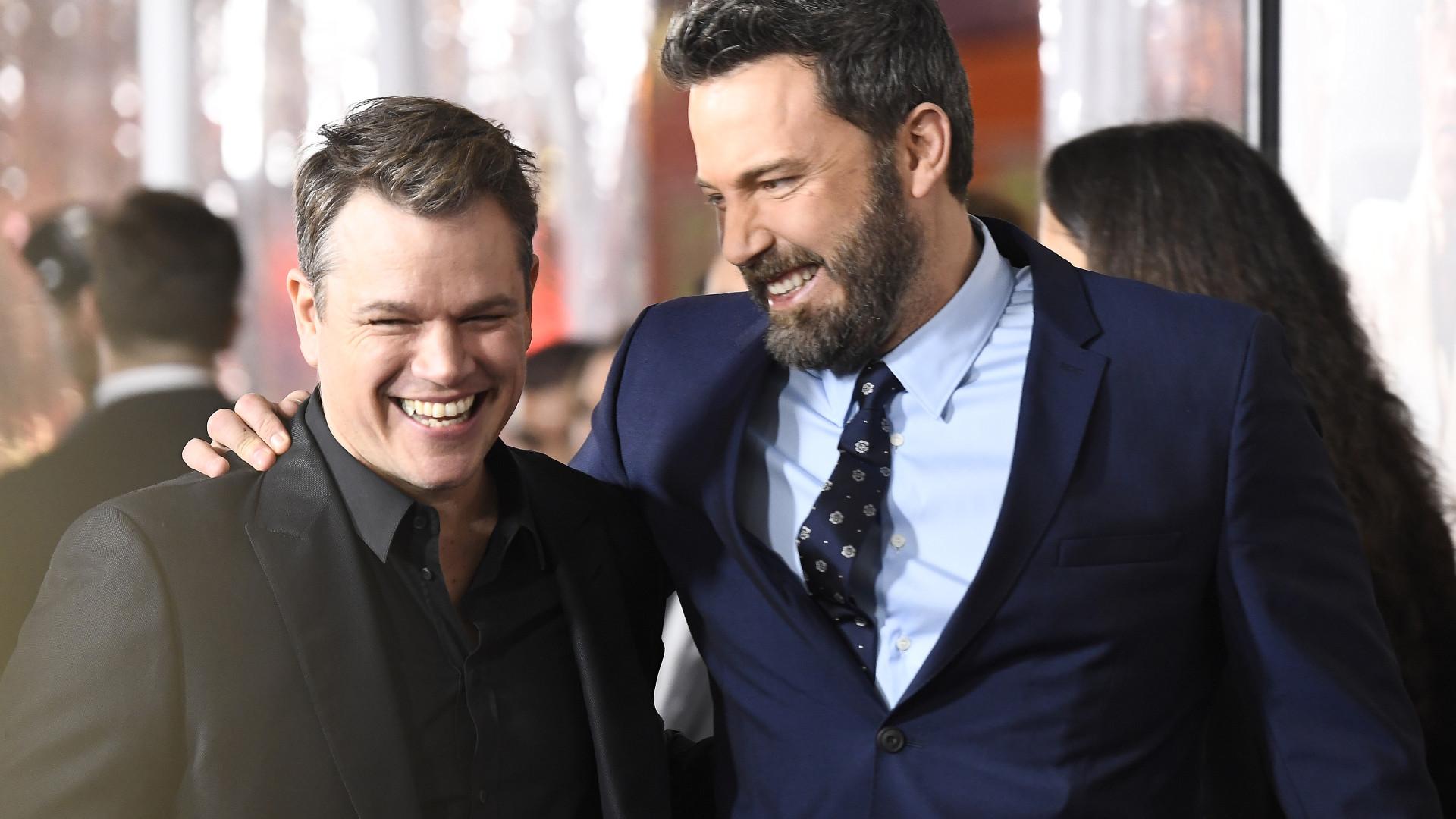 Affleck e Damon juntos em filme sobre roubo do Monopólio da McDonald's