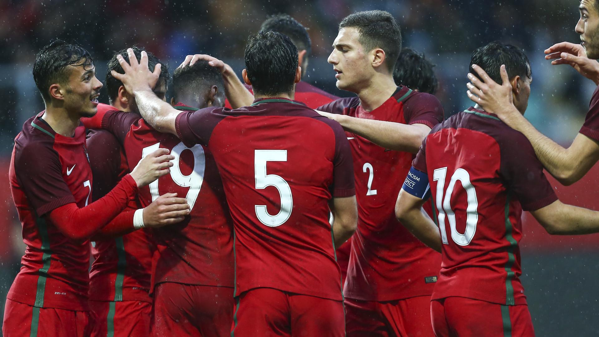 Sete golos dos Sub-21 com carimbo do Benfica