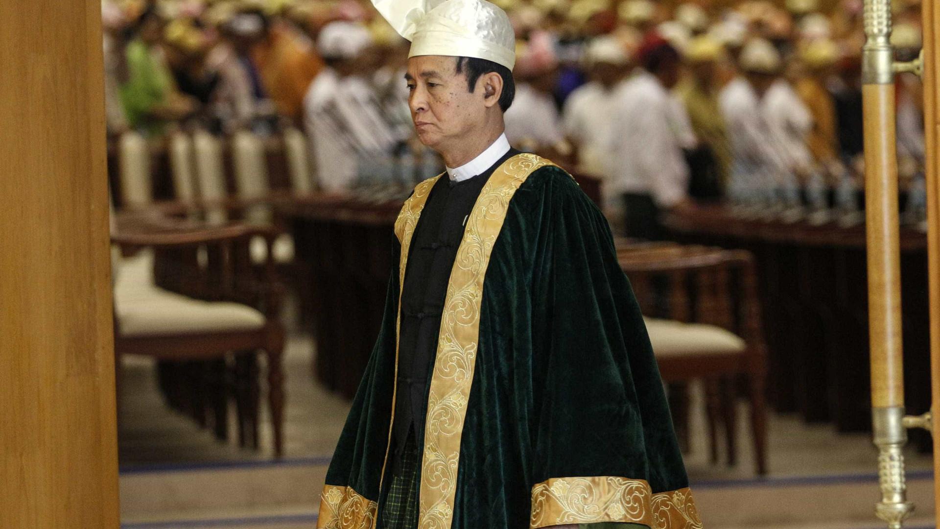 Presidente da Birmânia anuncia libertação de mais de 8 mil presos