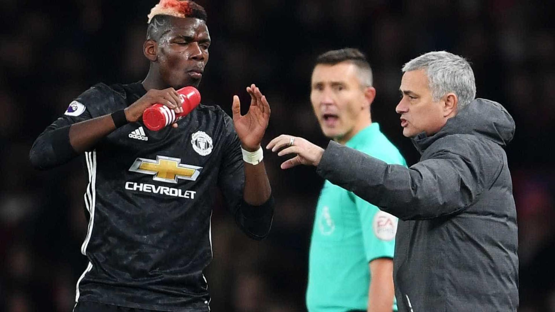 Mourinho quer Pogba fora do United. Francês já tem preço de saída