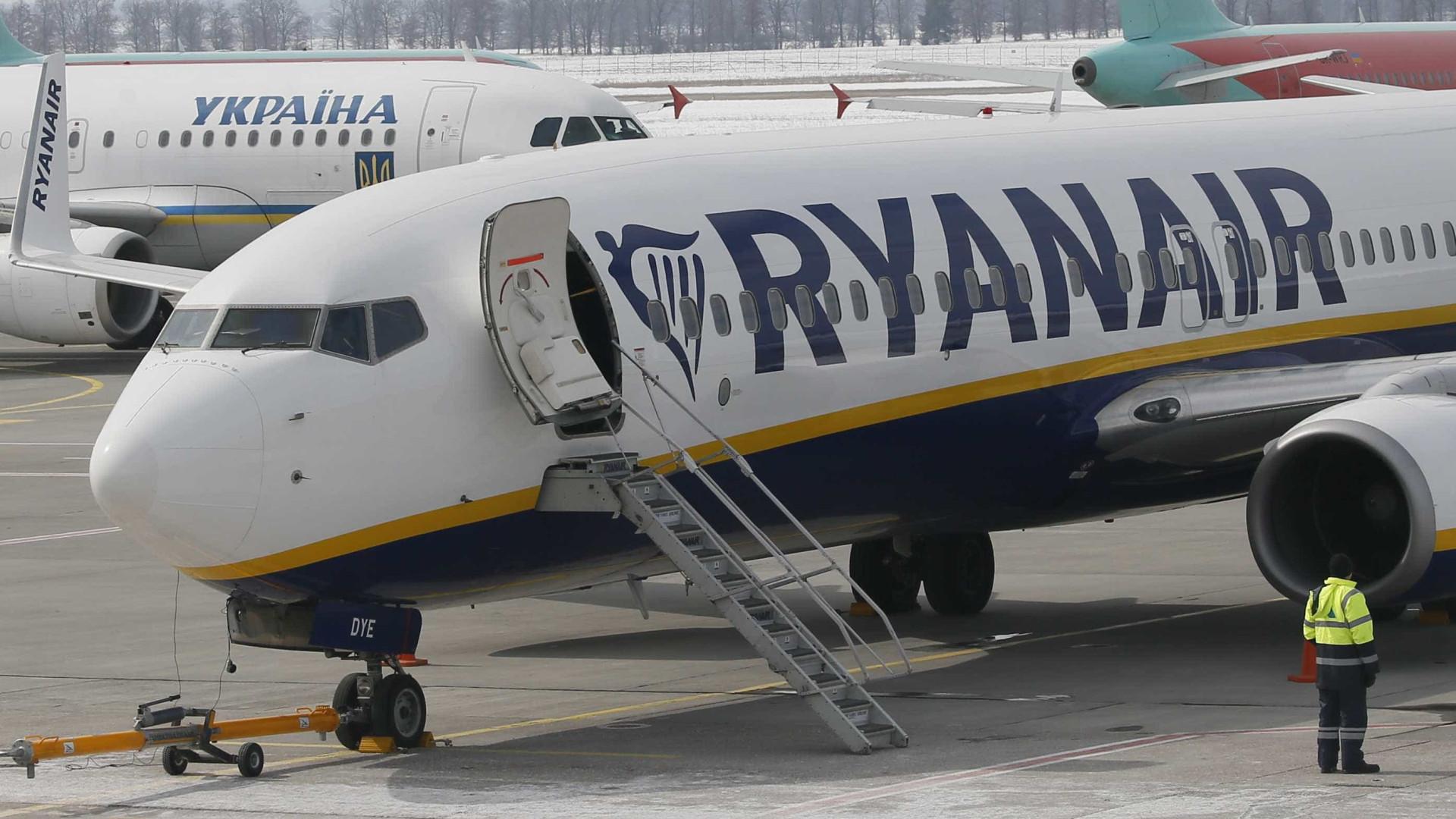 Pilotos da Ryanair na Irlanda de novo em greve em 20 e 24 de julho