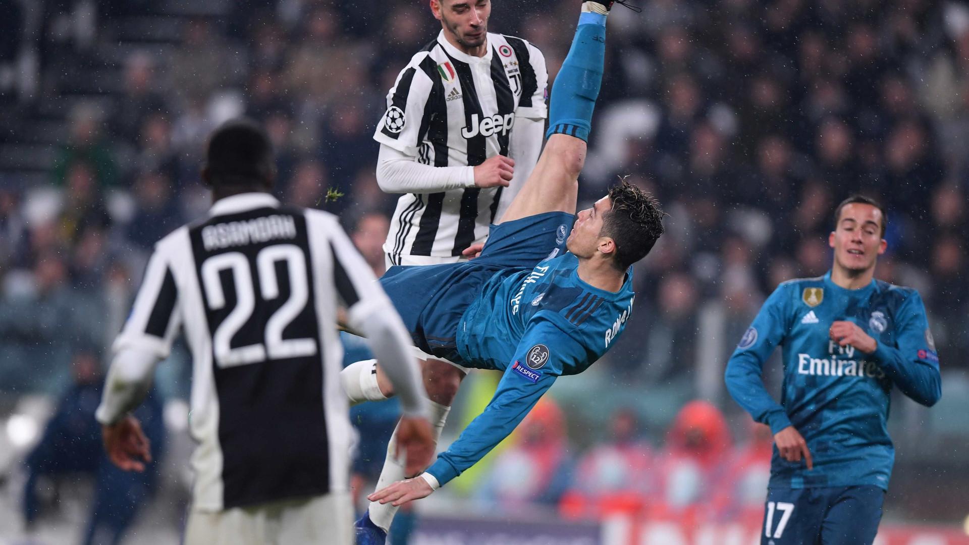 Ryan Giggs discorda da atribuição do golo do ano a Cristiano Ronaldo