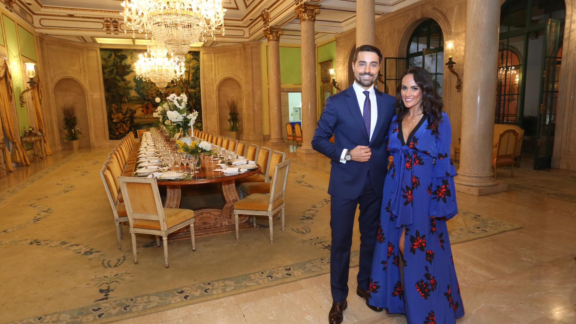 Francisca e Ricardo Pereira disseram o 'sim' há oito anos
