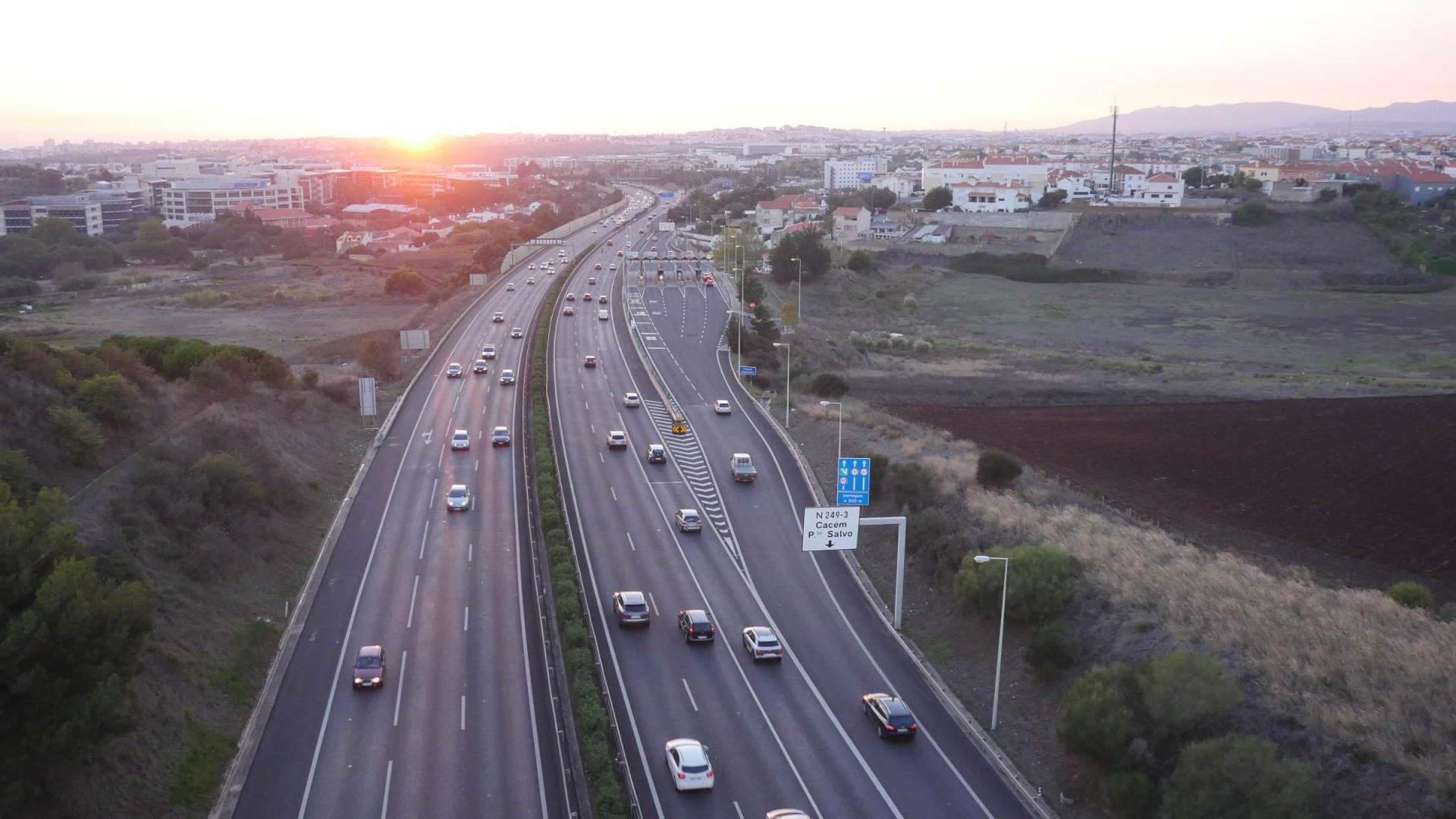 Obras vão condicionar parte do trânsito na A5. Saiba quando