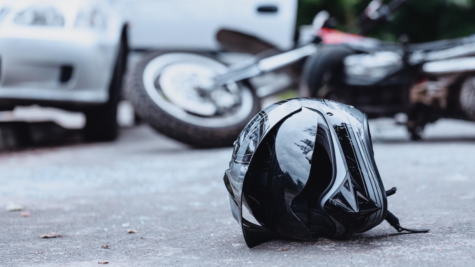 """Despiste de mota em Vila Nova de Gaia faz um """"ferido grave"""""""