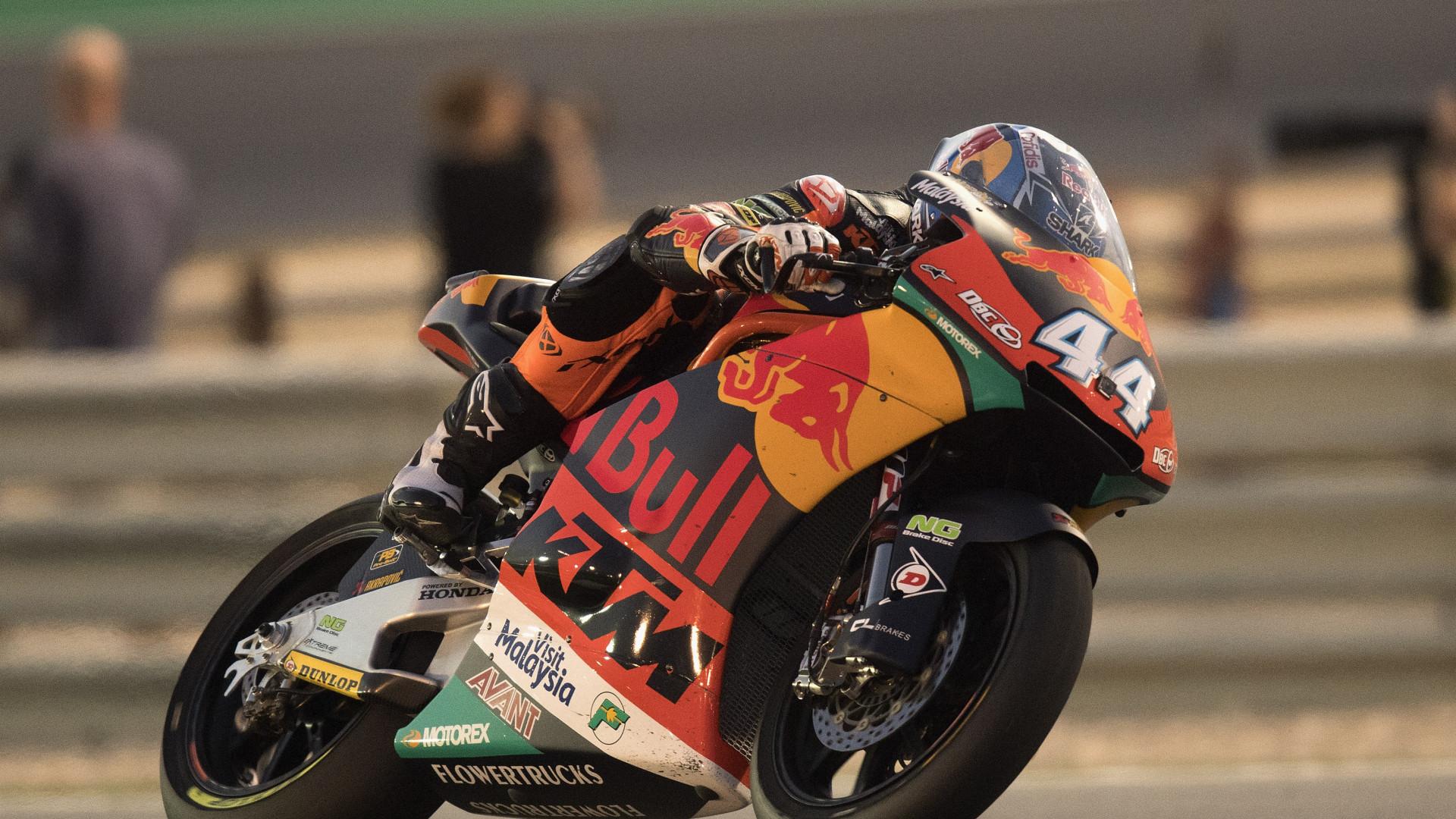 Moto2. Miguel Oliveira faz 12.º tempo na qualificação