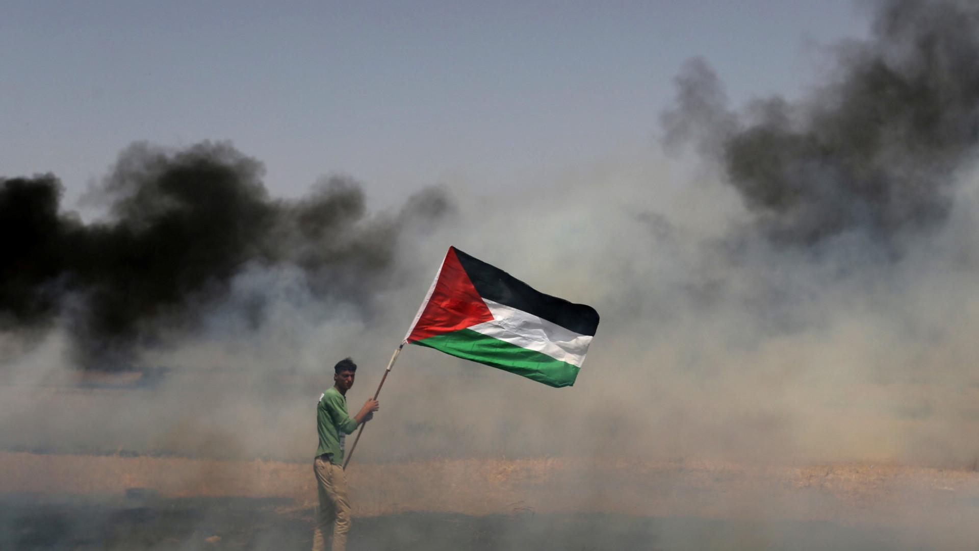 Manifestações em Gaza e na Cisjordânia pelos prisioneiros palestinianos