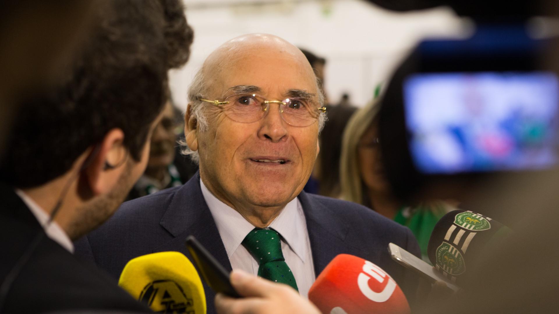 Cai Bruno de Carvalho, sobe Sousa Cintra à liderança da SAD do Sporting