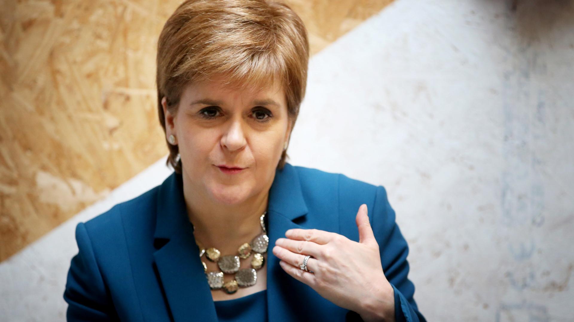 """Independência está """"claramente à vista"""", diz primeira-ministra escocesa"""