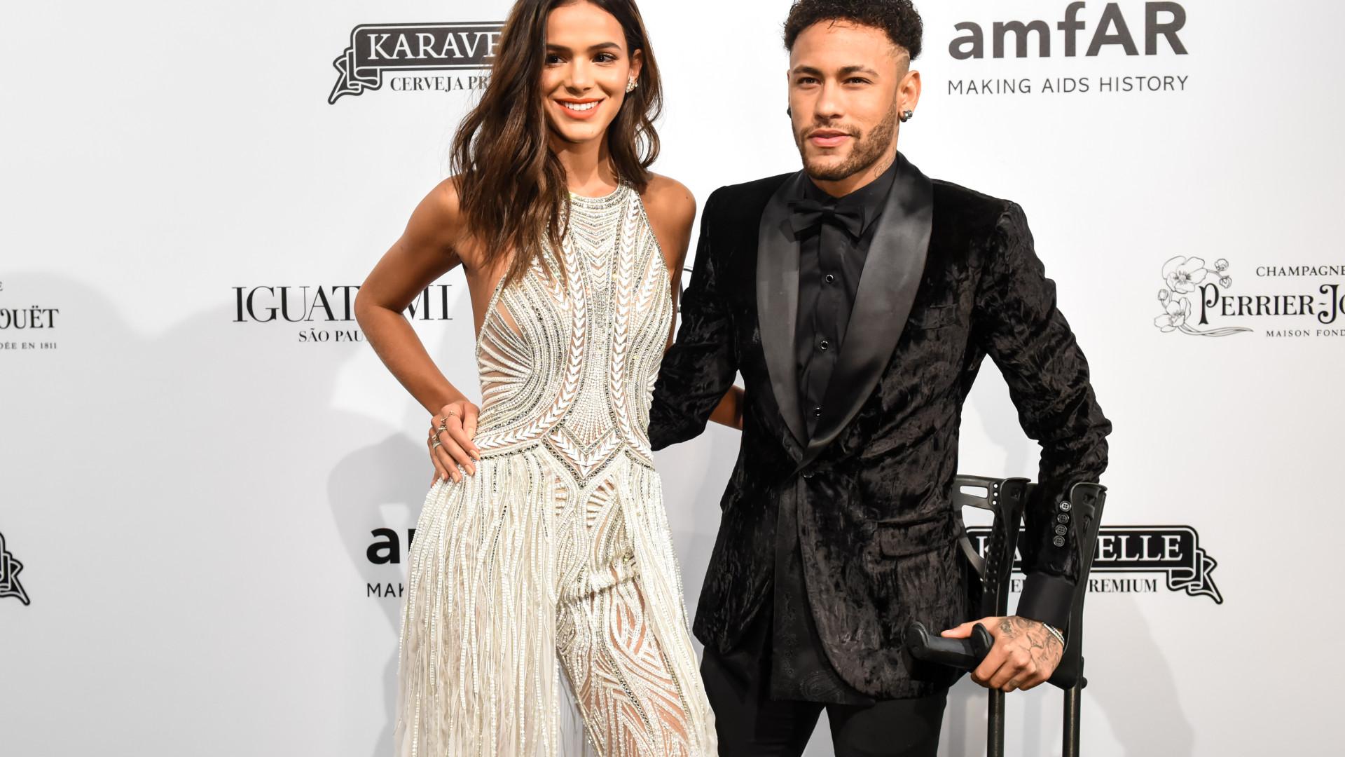 """""""Eita porra!"""": A reação de Neymar ao ver Bruna Marquezine loira"""