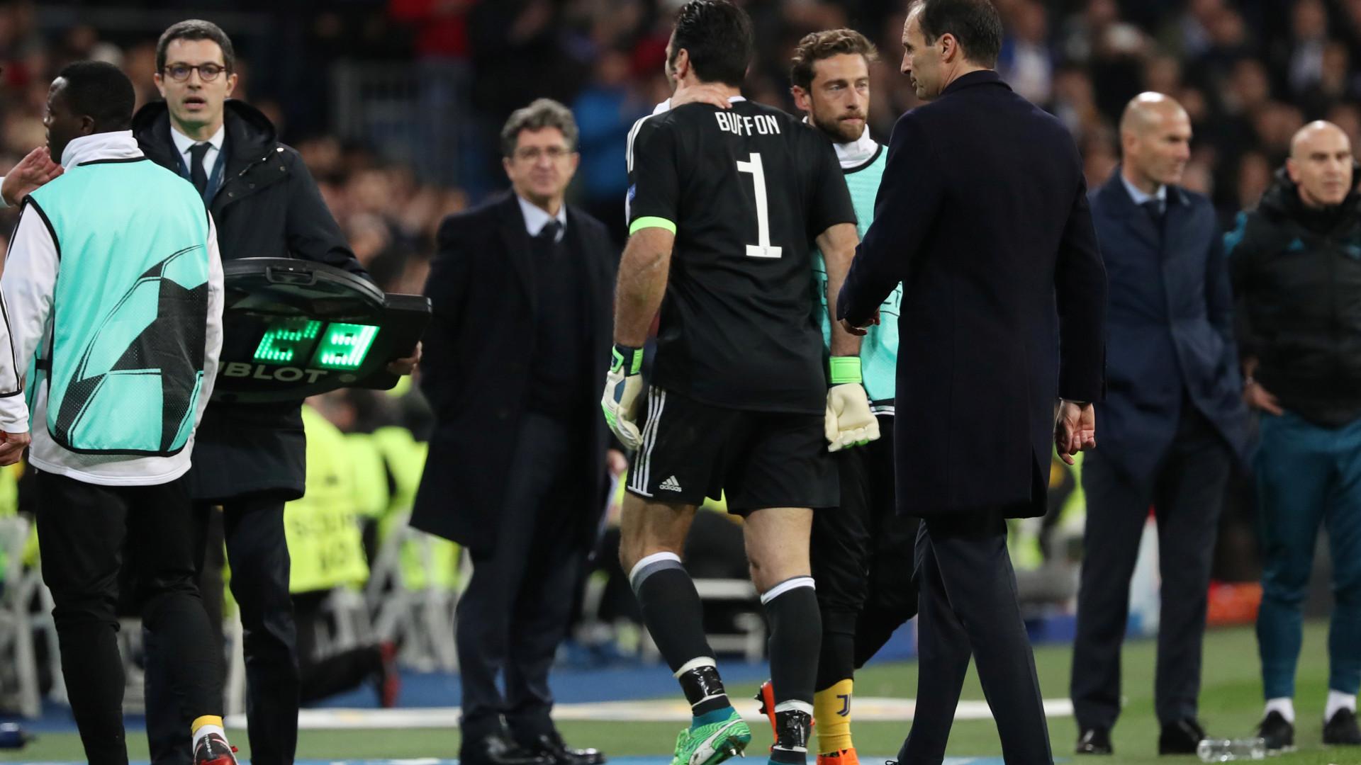 Allegri diz que a noite de Madrid fez bem a Buffon