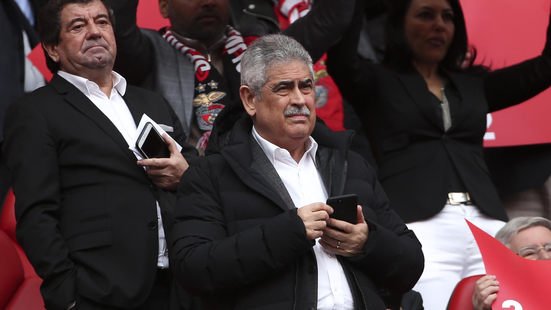 Luís Filipe Vieira já teve alta hospitalar