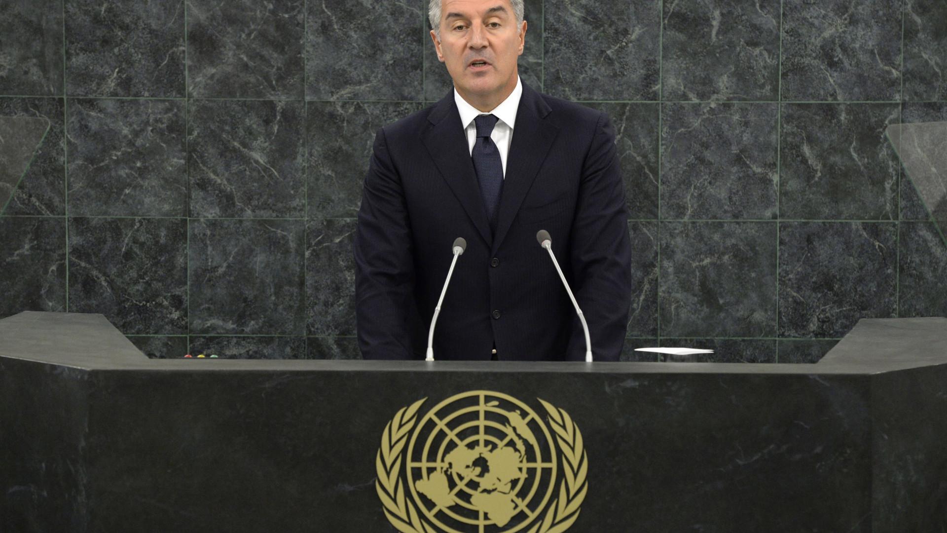 Djukanovic eleito presidente do Montenegro à primeira volta