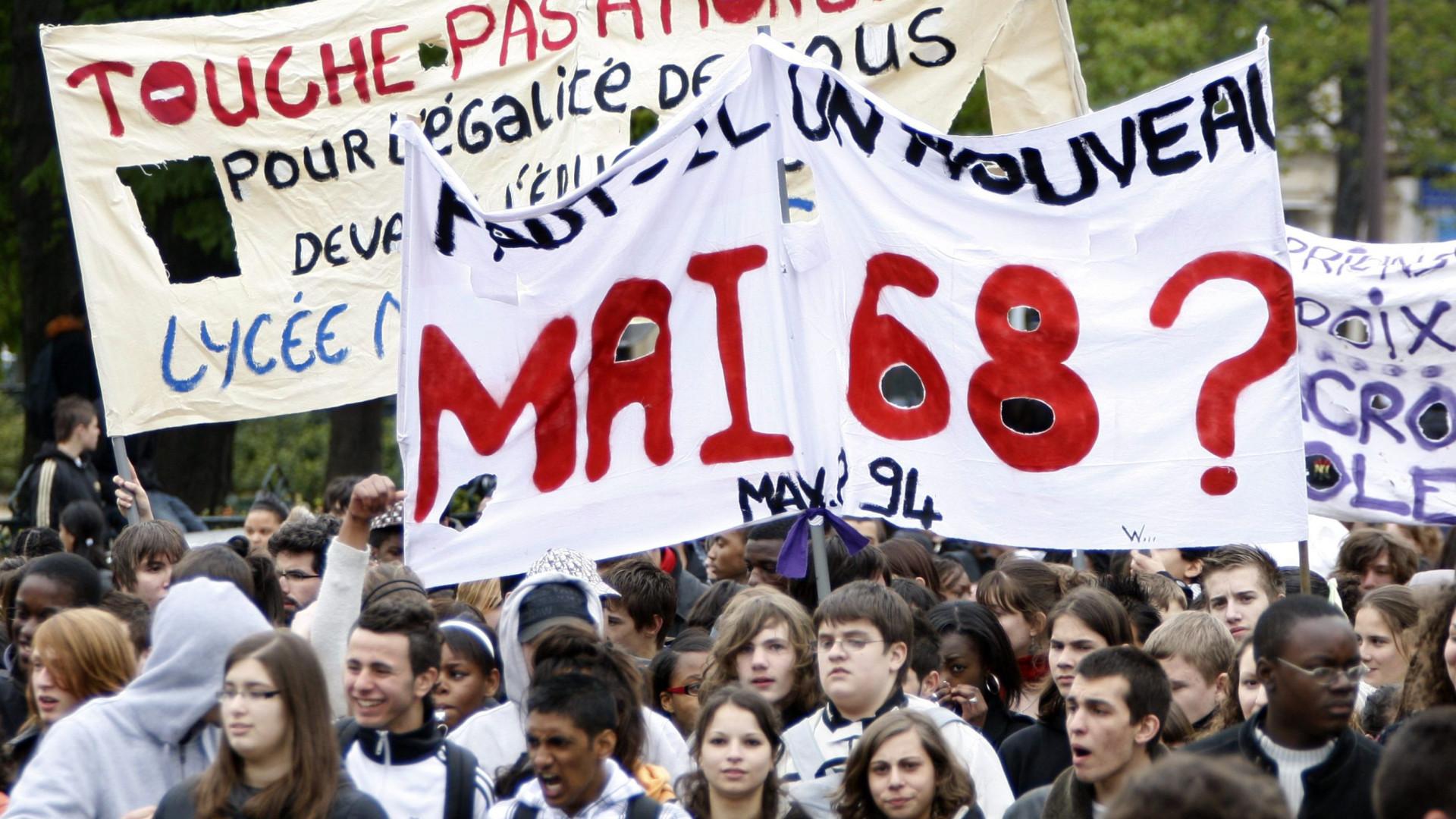 """Maio de 68: Um """"êxtase da História"""""""