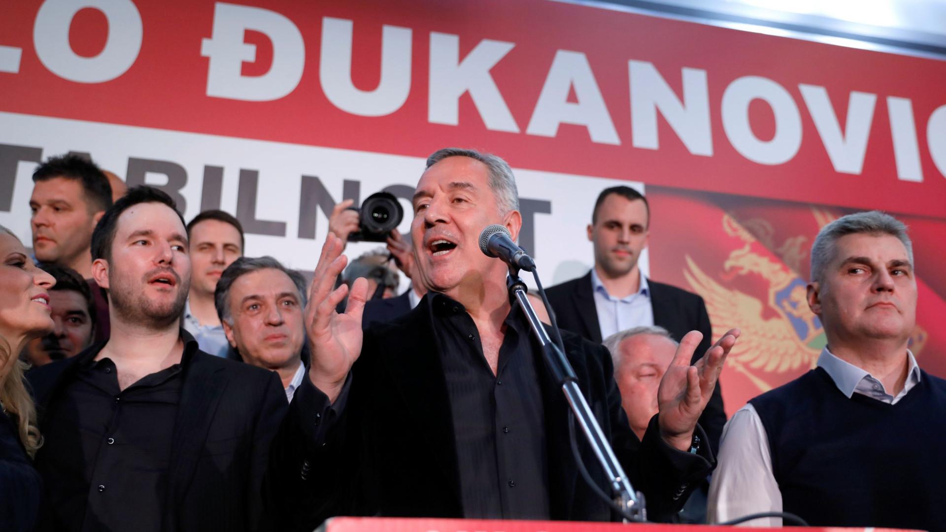 Milo Djukanovic confirmado como Presidente do Montenegro