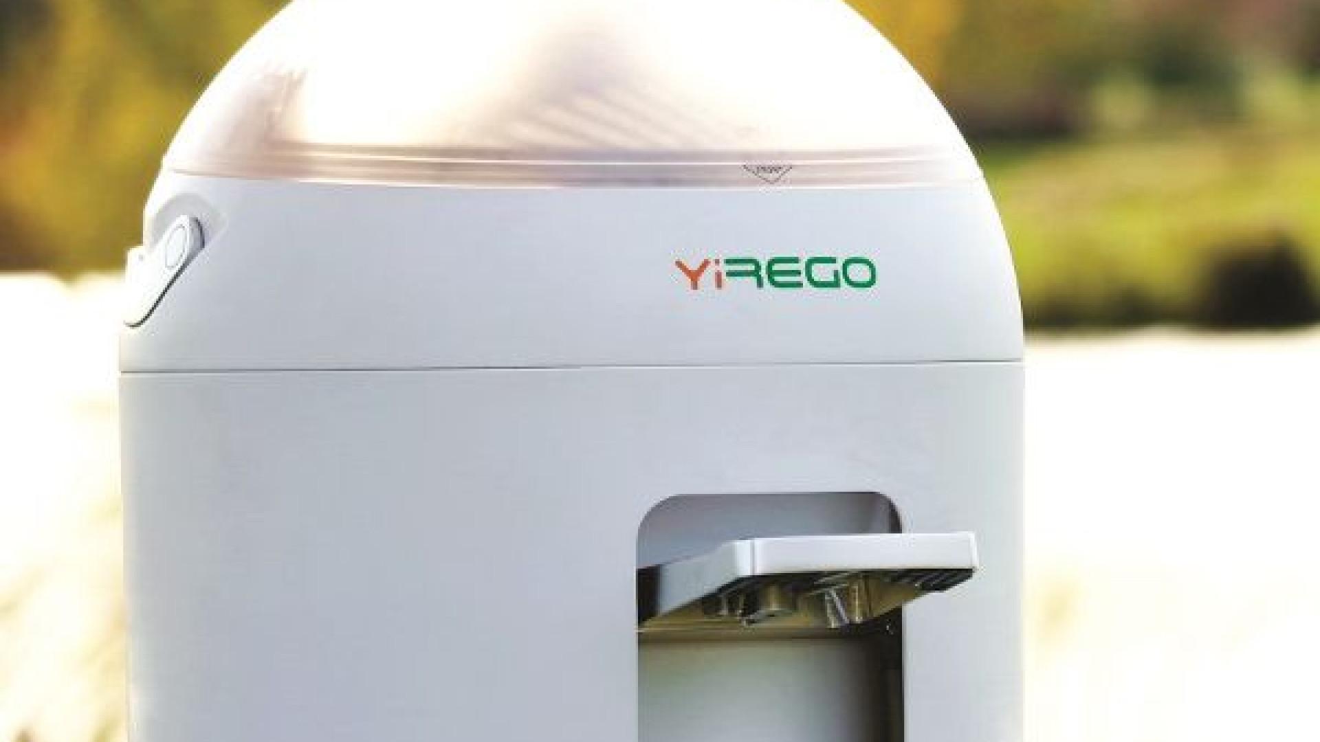 Nova máquina lava roupa em cinco minutos… e sem energia elétrica