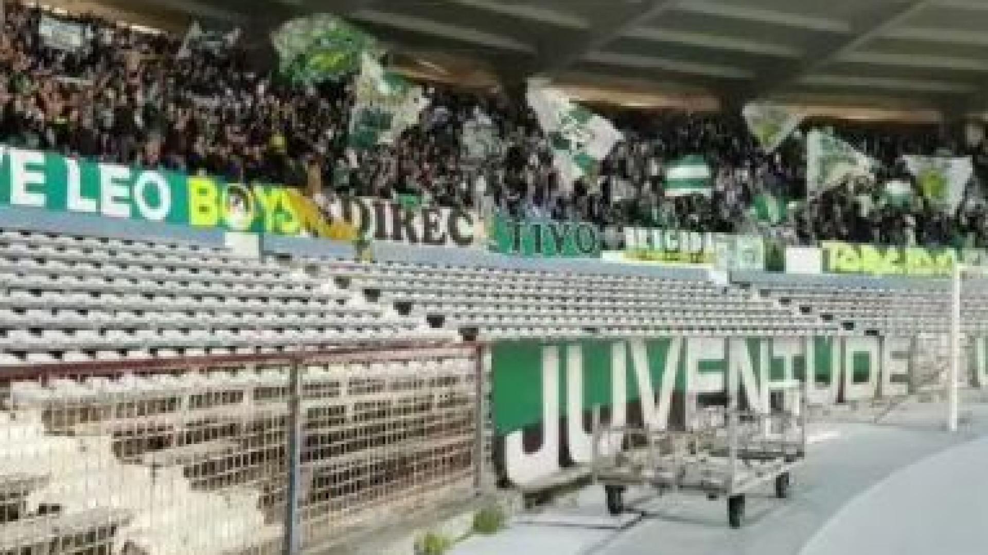 """Sporting agradece apoio dos adeptos no Restelo: """"Os melhores do mundo!"""""""