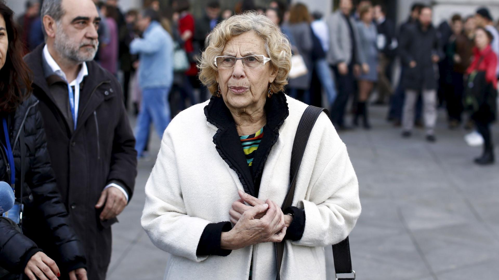 """Presidente de Madrid """"orgulhosa"""" por receber Presidente dos """"afetos"""""""