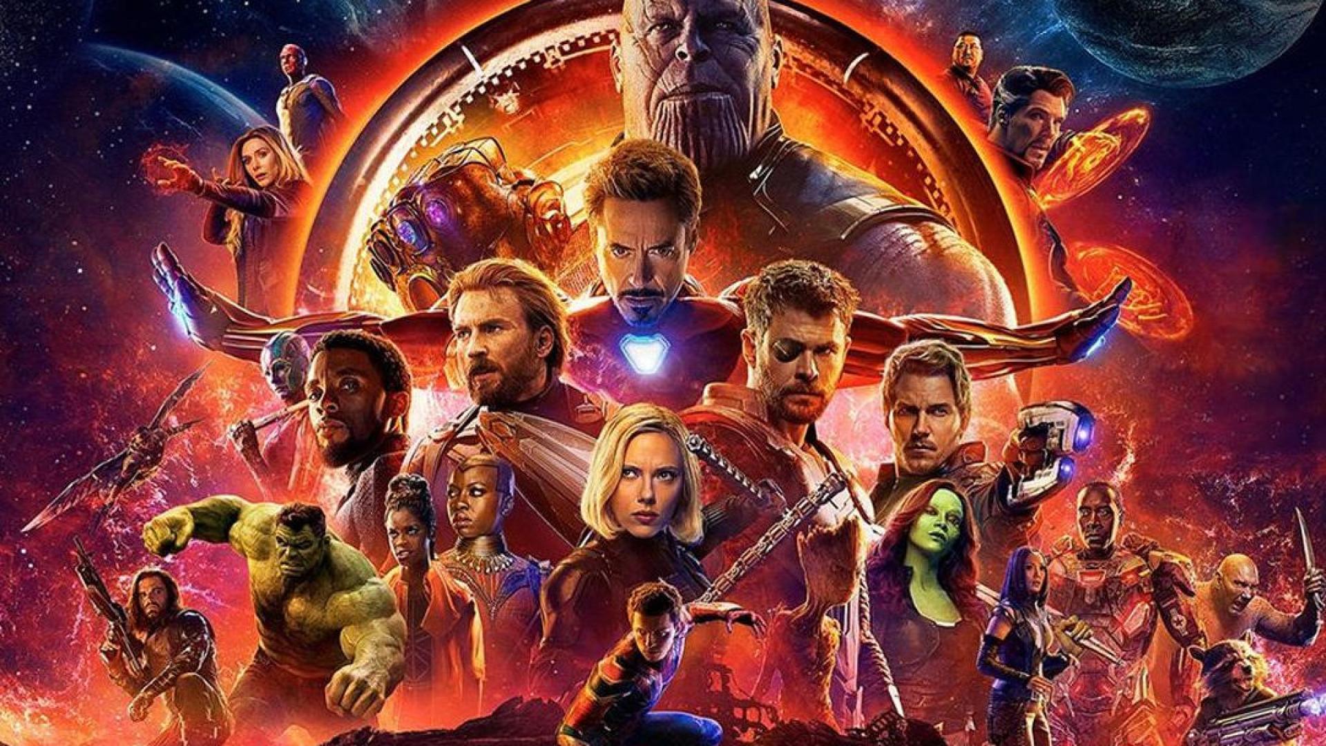 Uma guerra infinita com (quase) todos os Vingadores e com um Titã Louco