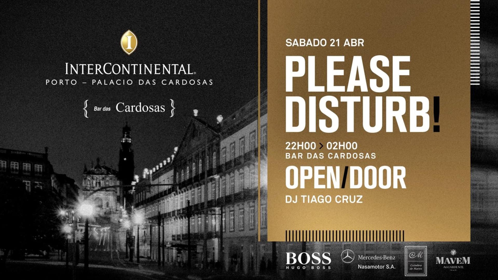 Please Disturb: Prepare-se para um serão original no Palácio das Cardosas