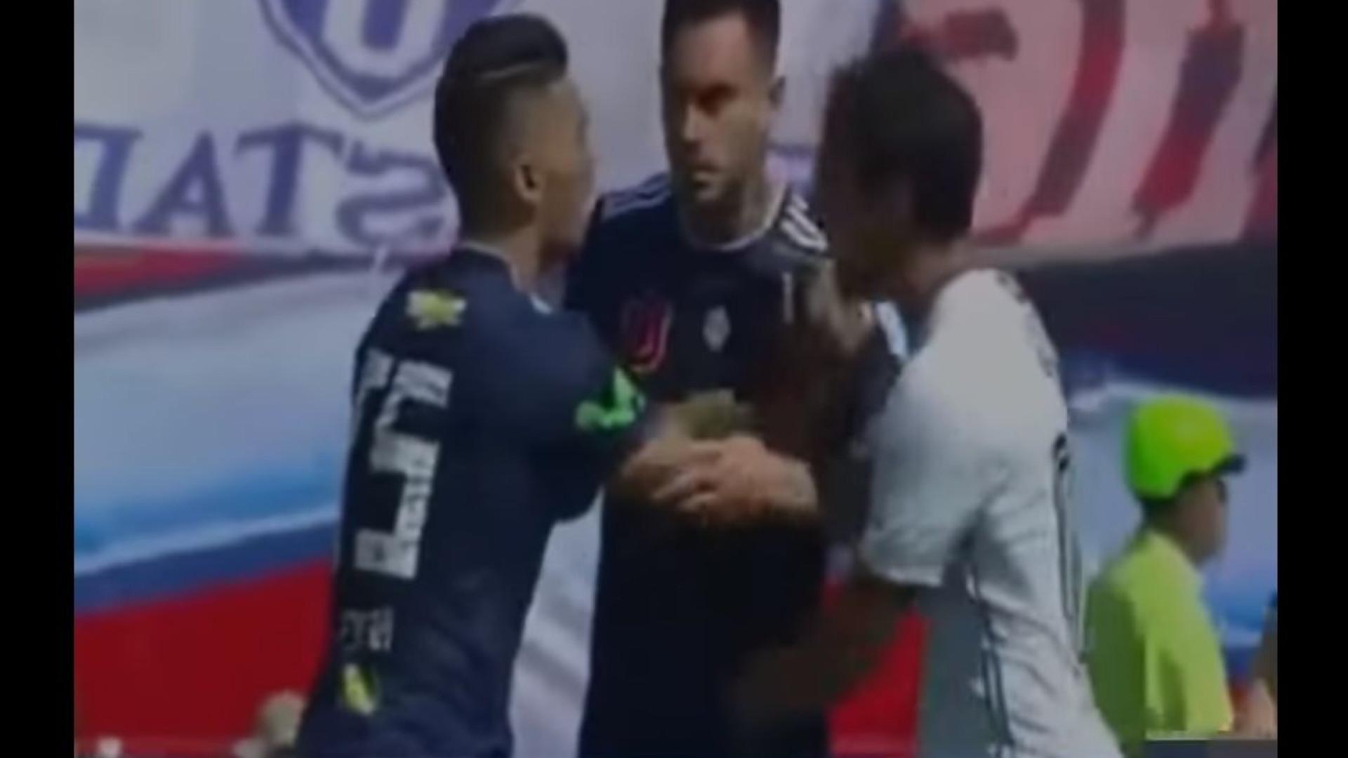 Antigo jogador do Sporting desentende-se com colega de equipa