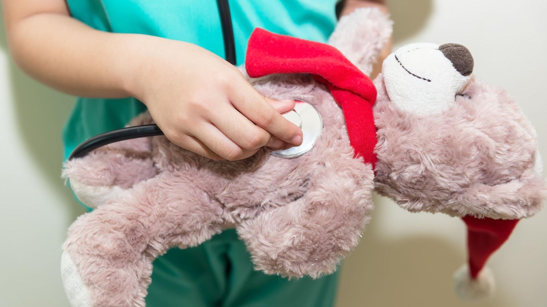 'Hospital do Faz de Conta'. Brincar para perder o medo do senhor doutor
