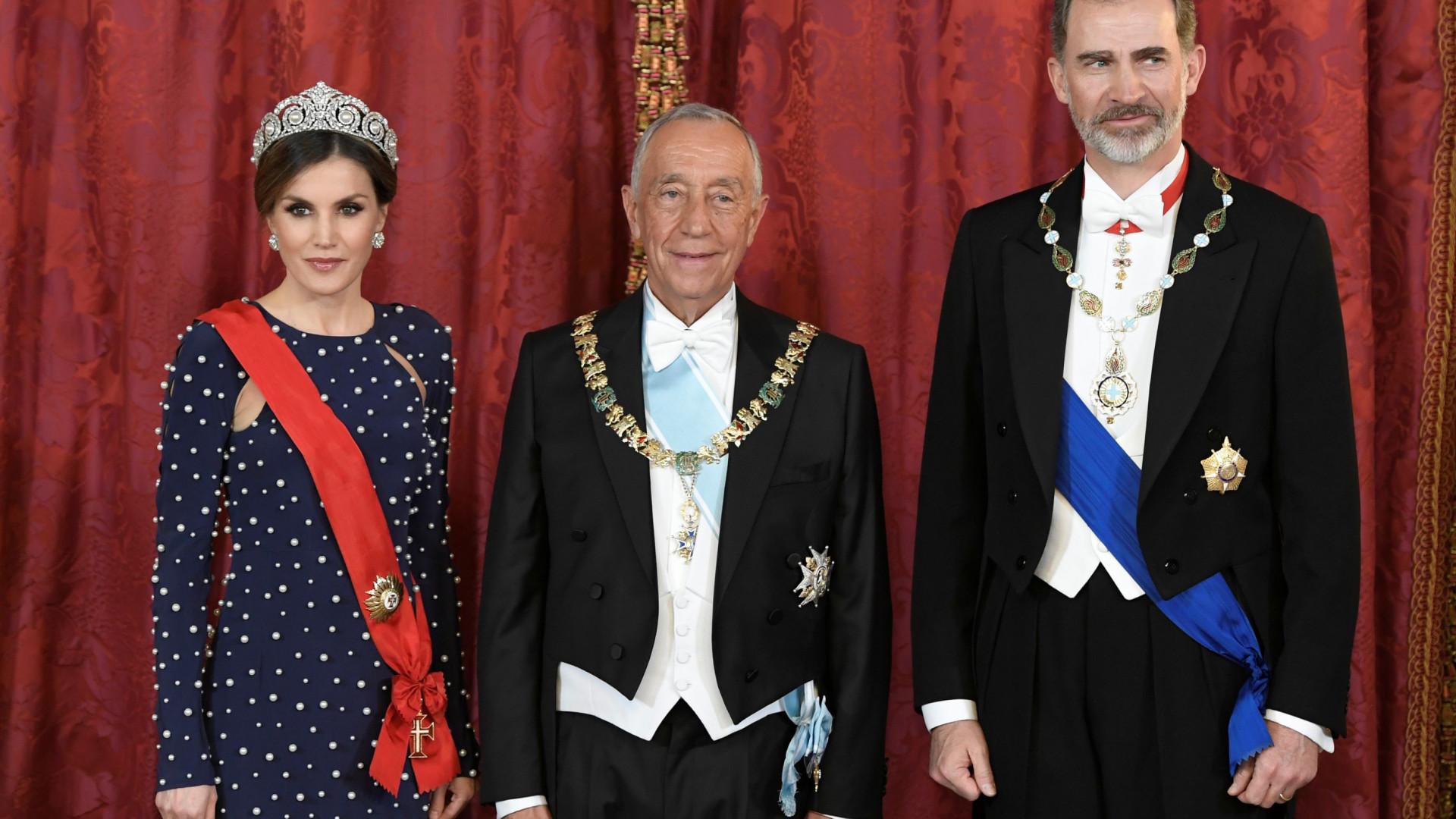 """Marcelo quer que portugueses em Madrid sejam """"embaixadores qualificados"""""""