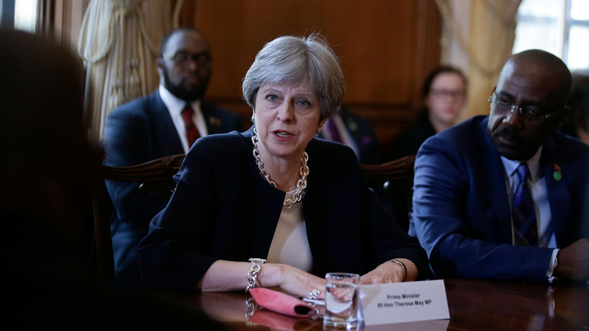 May admite papel do Reino Unido em leis anti-gay nas antigas colónias