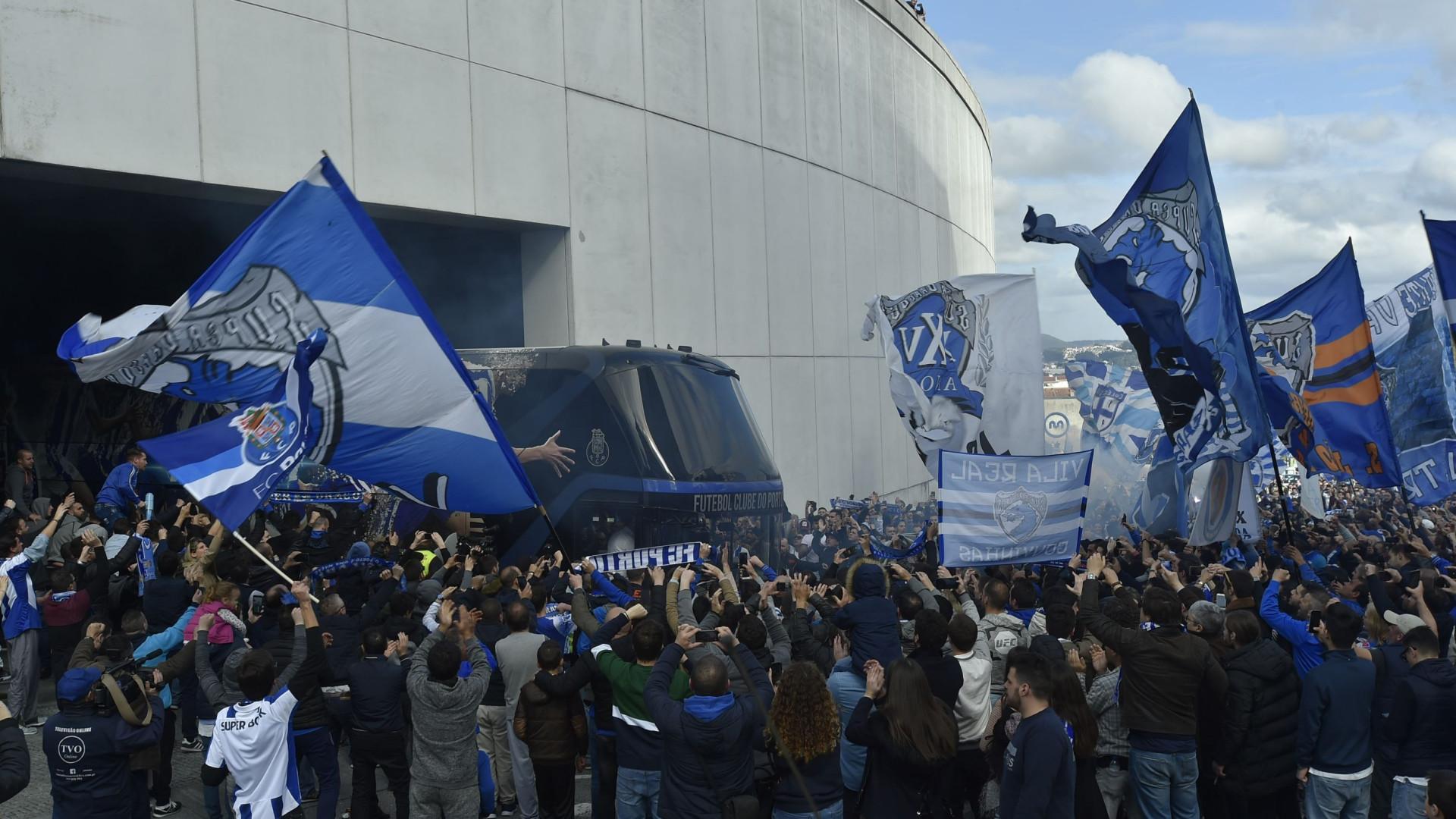 FC Porto já vendeu 38 mil bilhetes para a receção ao V. Setúbal