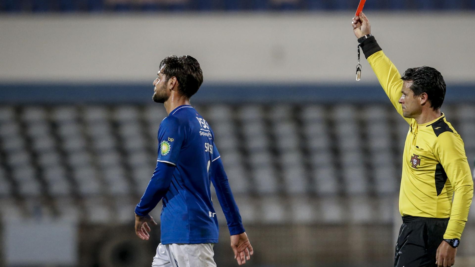 Belenenses-Sporting: Eis as palavras que valeram a expulsão de Sasso