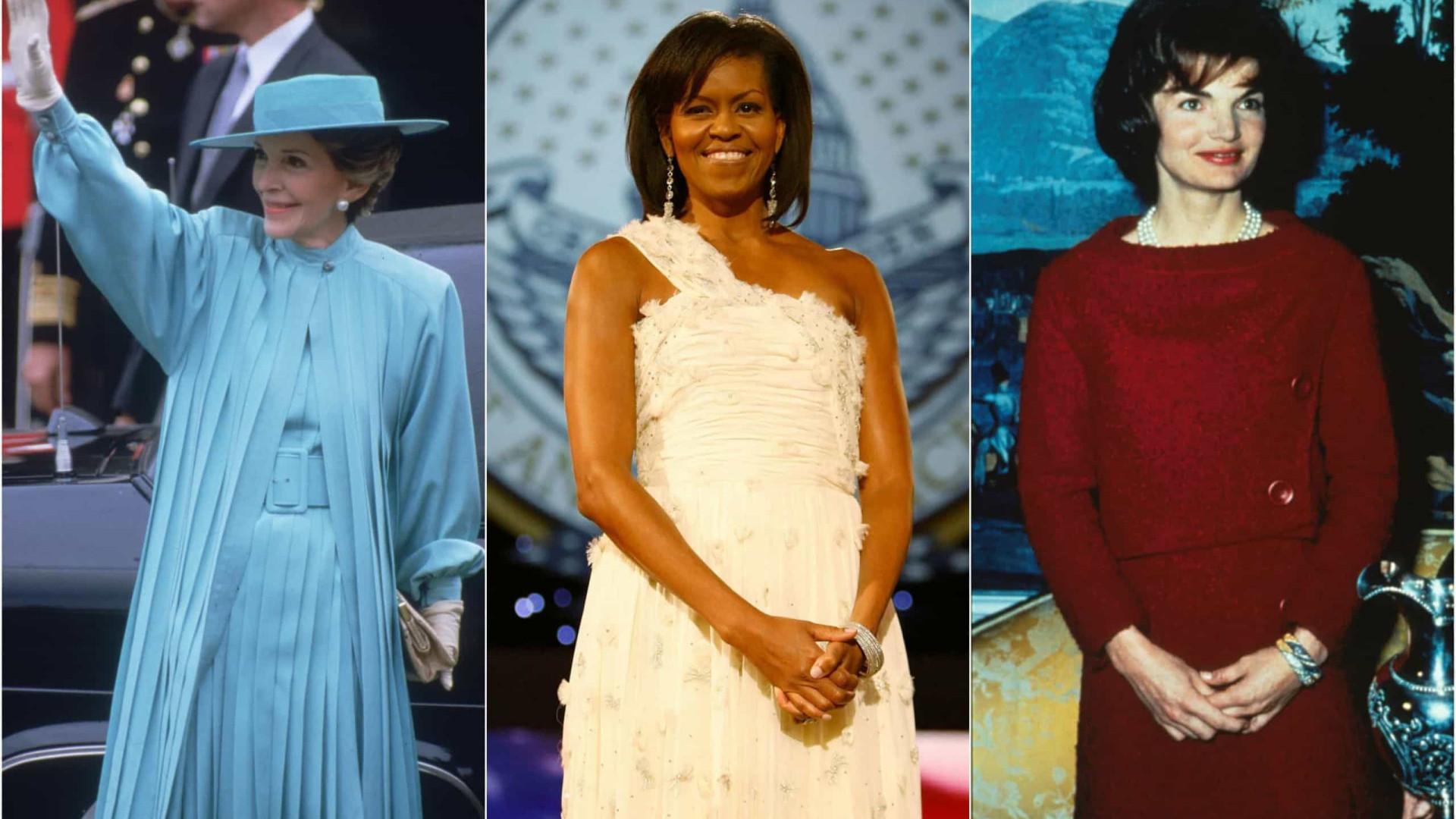 Quatro antigos presidentes no adeus a Barbara Bush