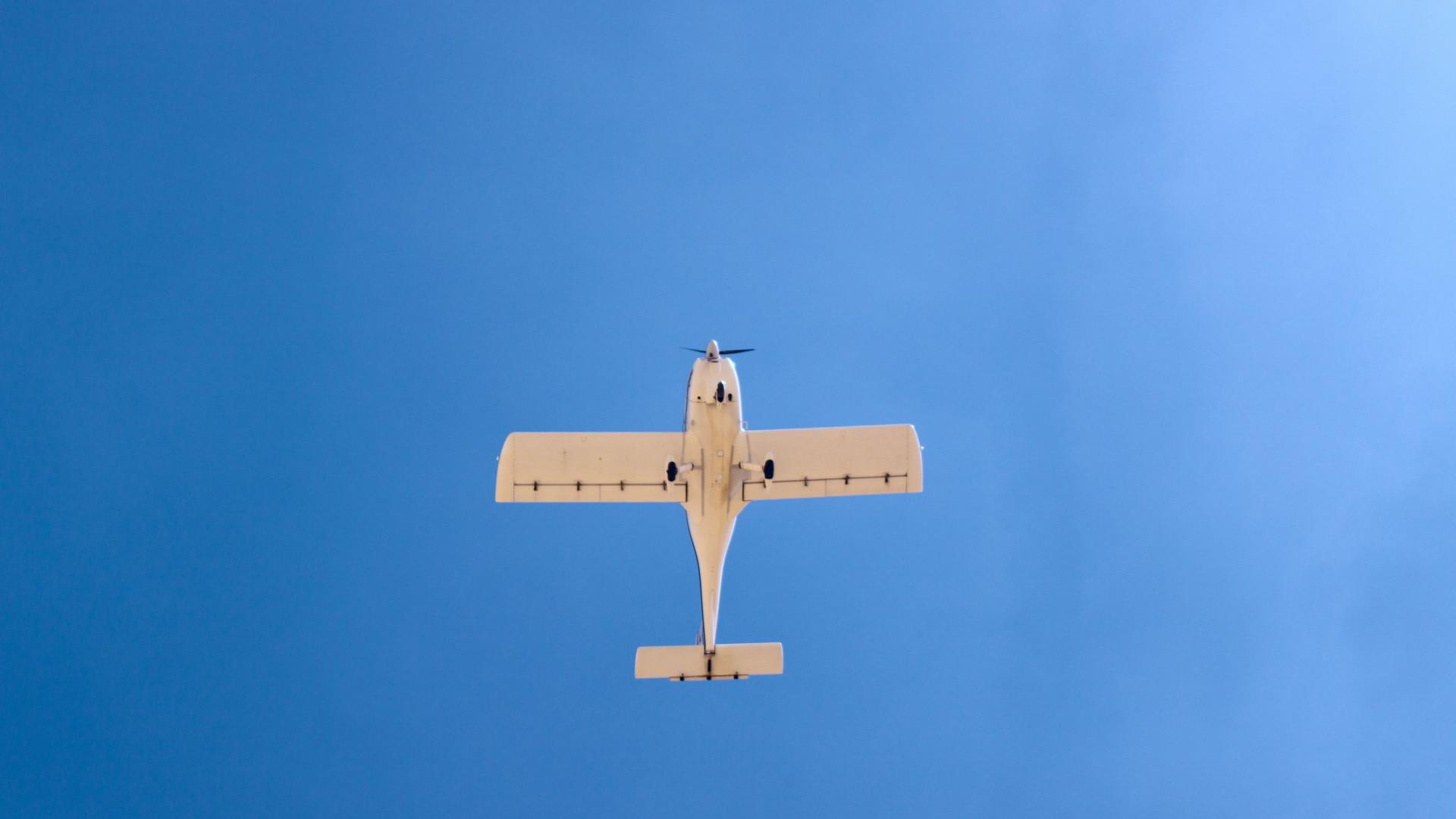 Avioneta forçada a aterragem de emergência no Air Summit em Ponte de Sor