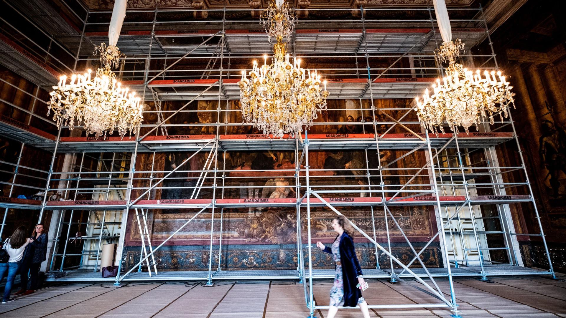 Sala D.João IV do Palácio da Ajuda vai ser restaurada por 130 mil euros