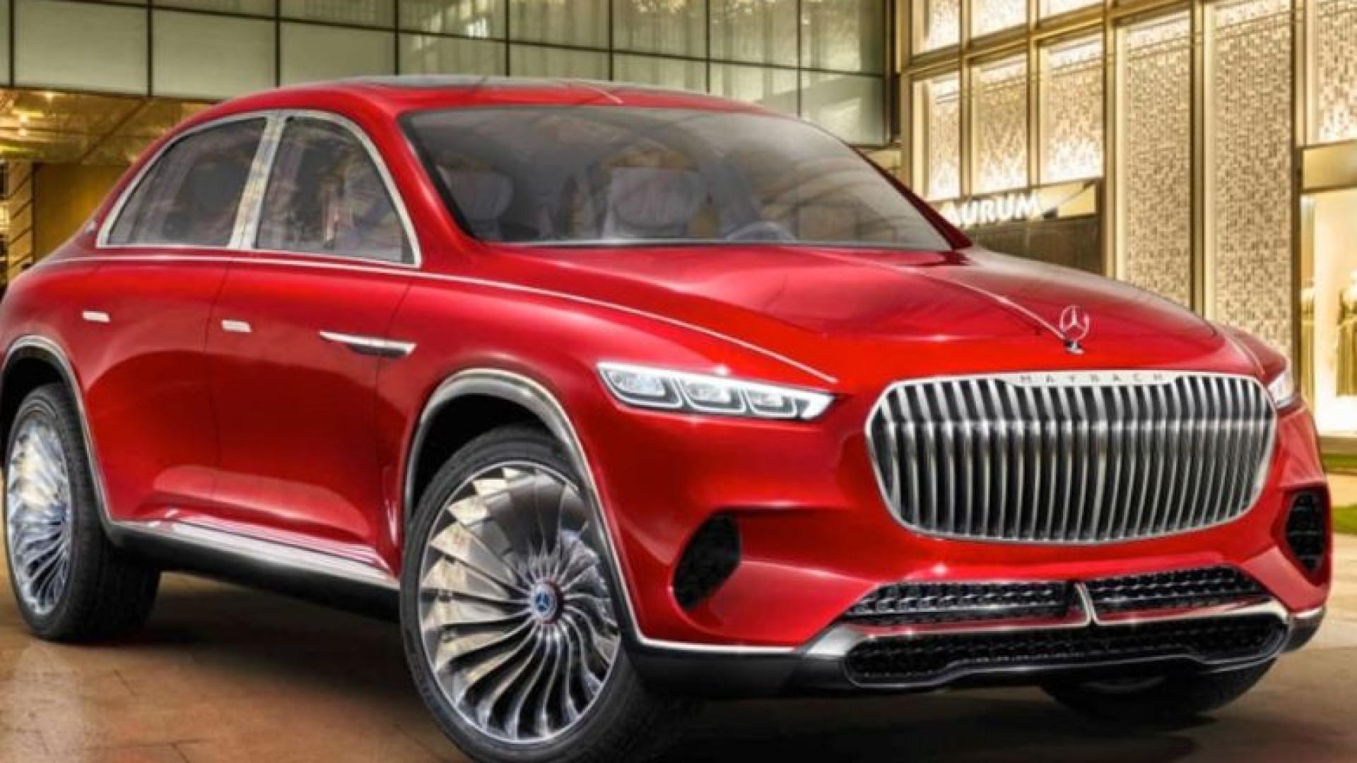 Imagens do primeiro SUV da Mercedes caem na internet