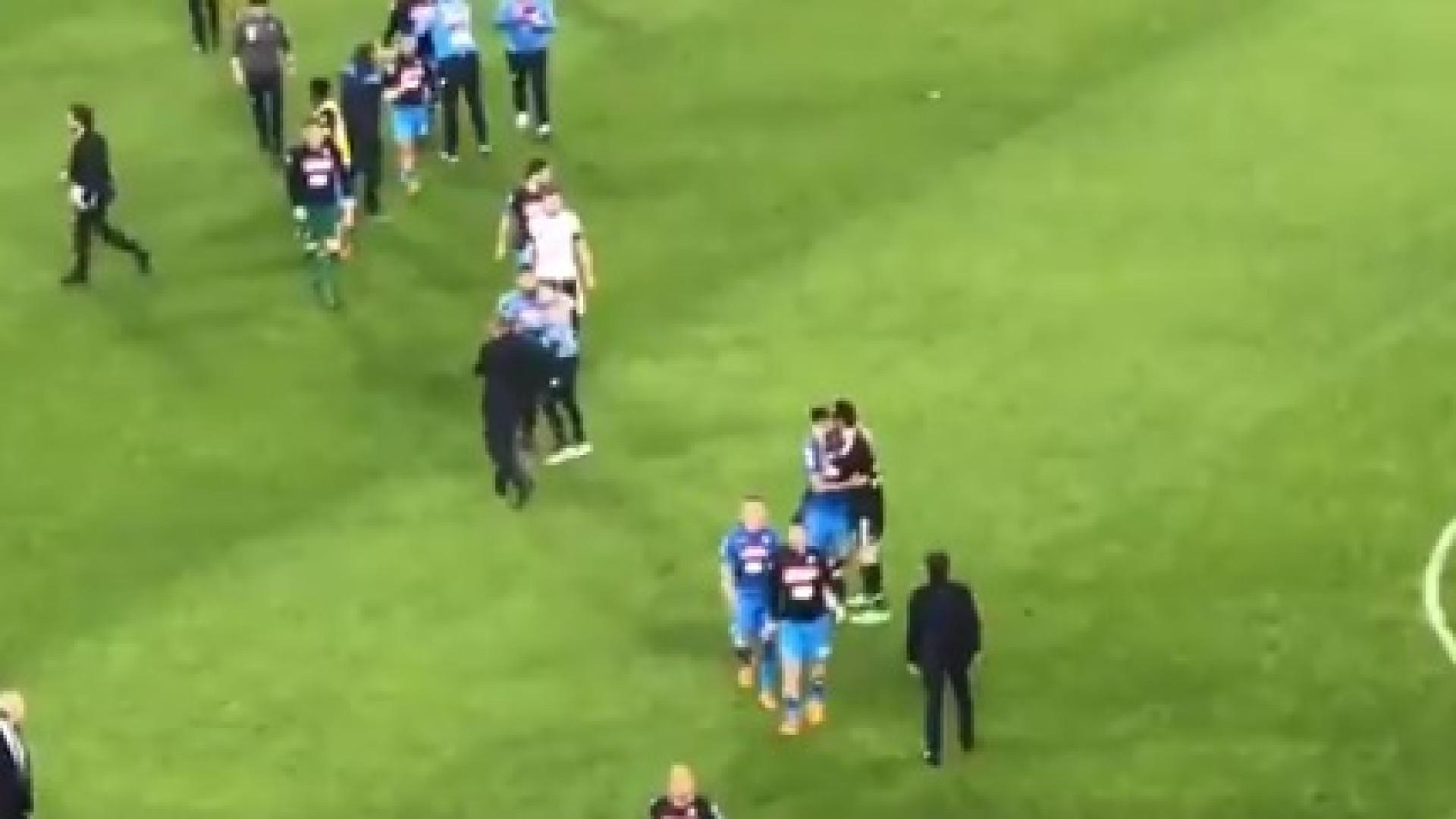 O gesto de Buffon após a derrota com o Nápoles que está a correr o mundo