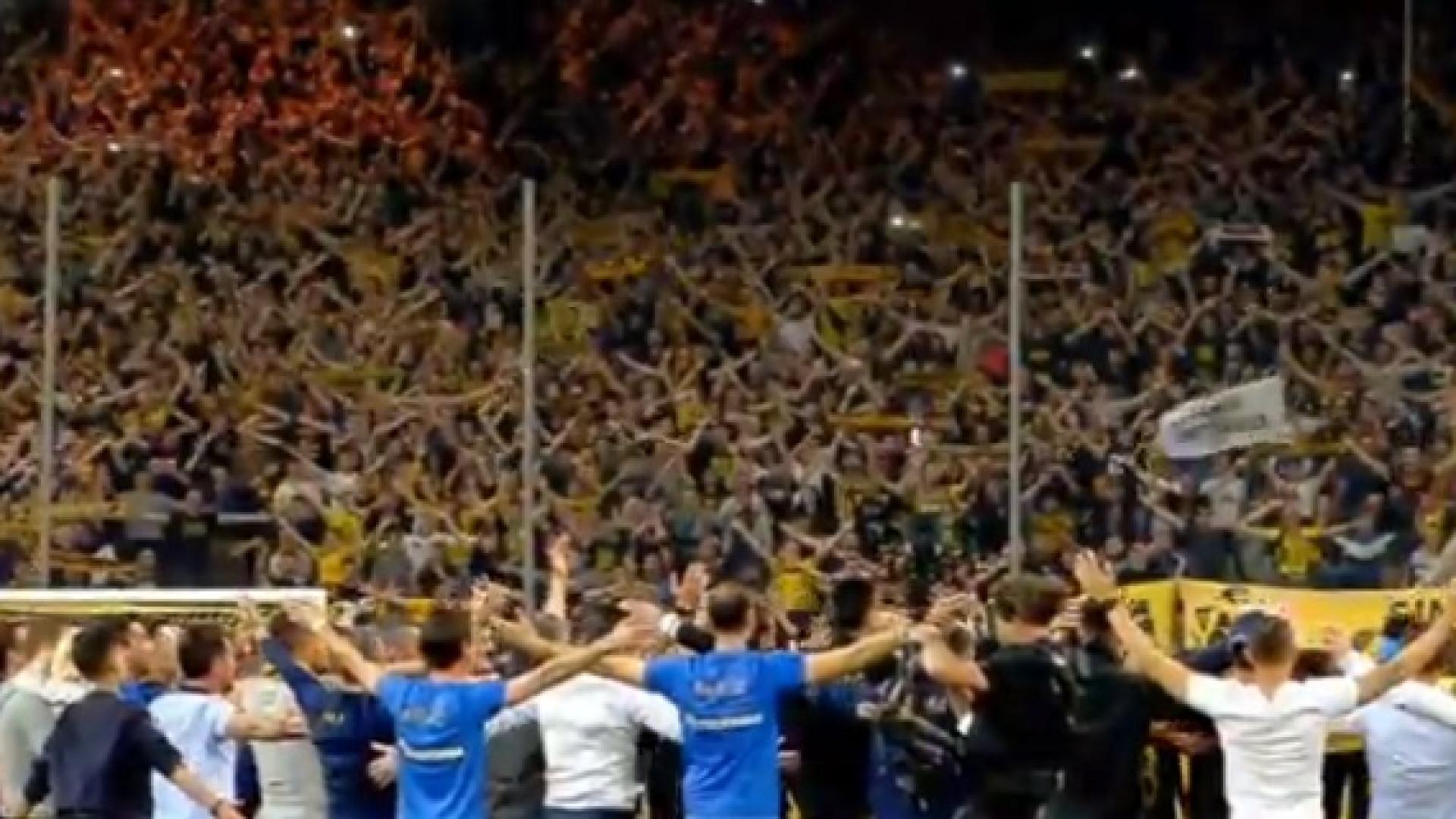 AEK venceu título e haka da festa foi verdadeiramente emocionante