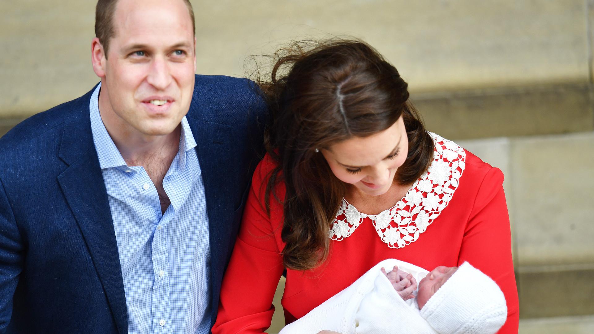 William pode ter dado uma (enorme) pista sobre o nome do terceiro filho