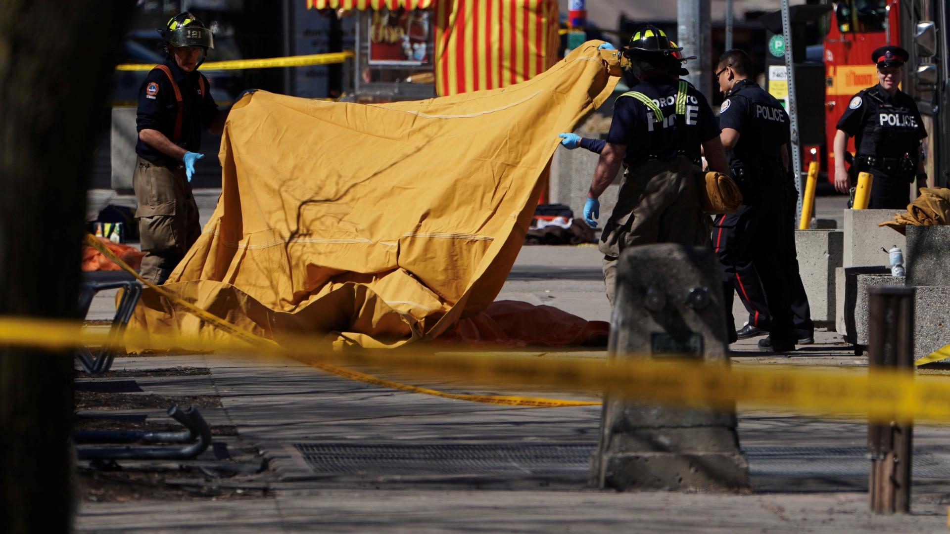 Atropelamento em Toronto faz 9 mortos e 16 feridos