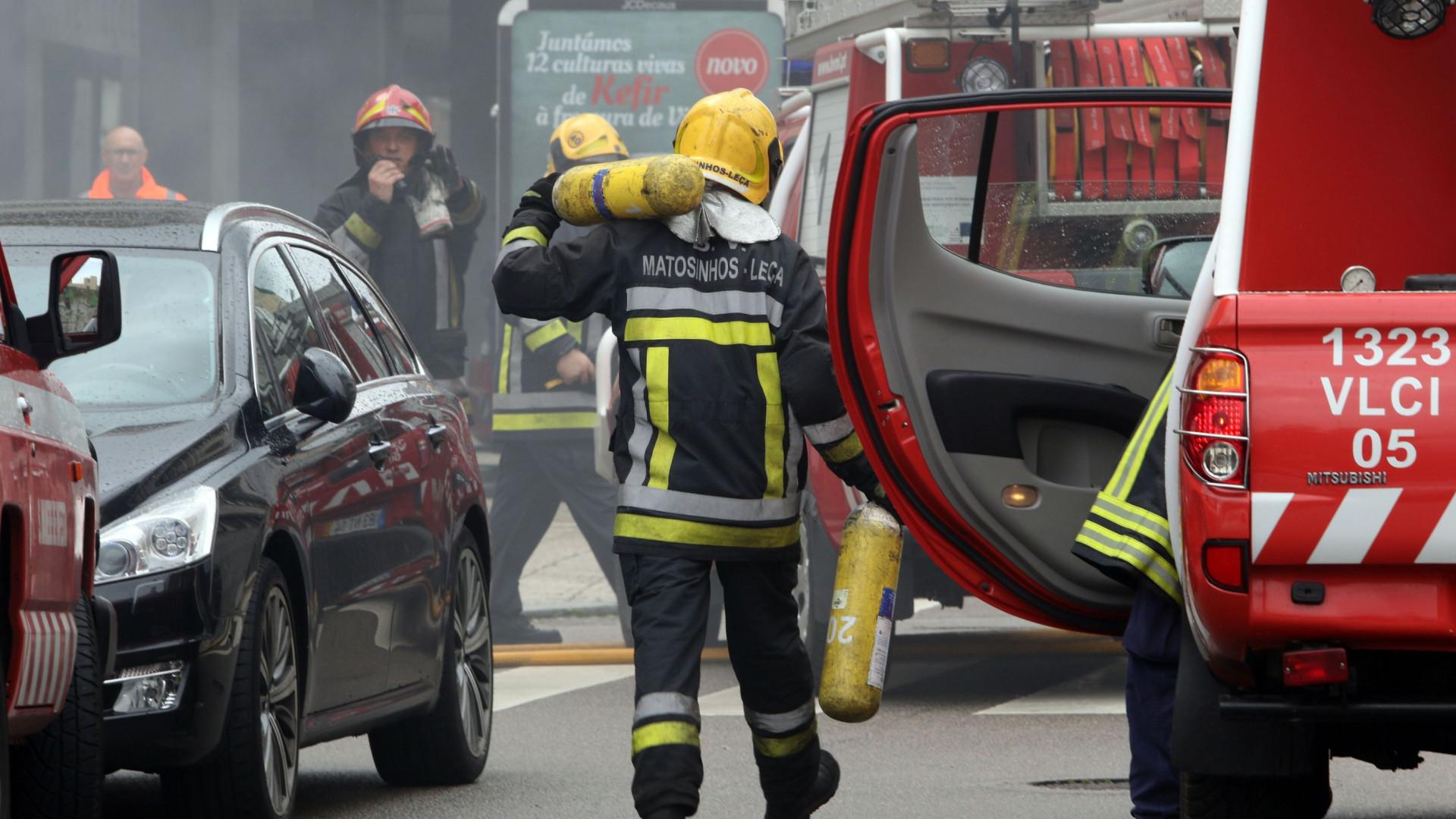 Autocarro da Resende incendiou-se sem registo de vítimas