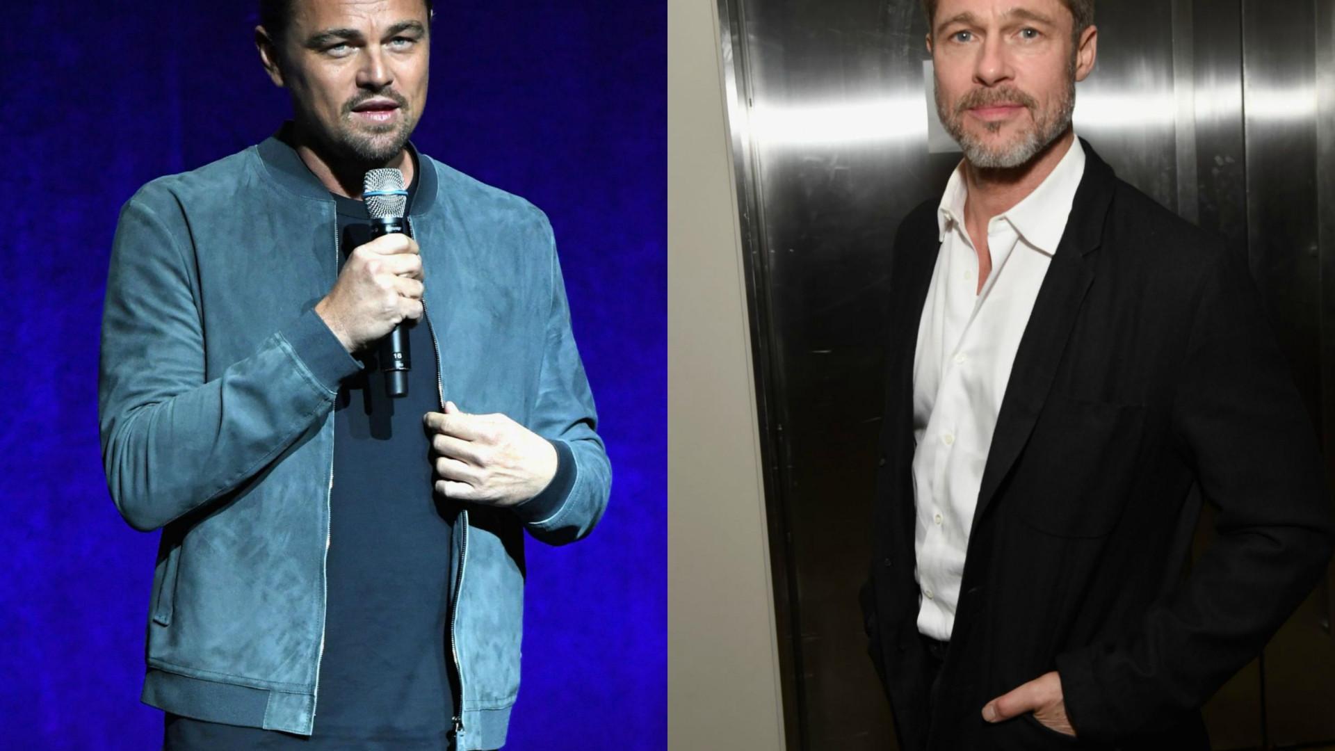 Leonardo DiCaprio e Brad Pitt serão a próxima dupla mítica do cinema