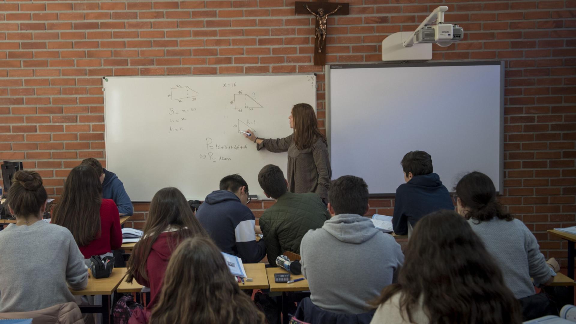 Redução de alunos por turma alargada a mais anos no ano letivo 2019-2020