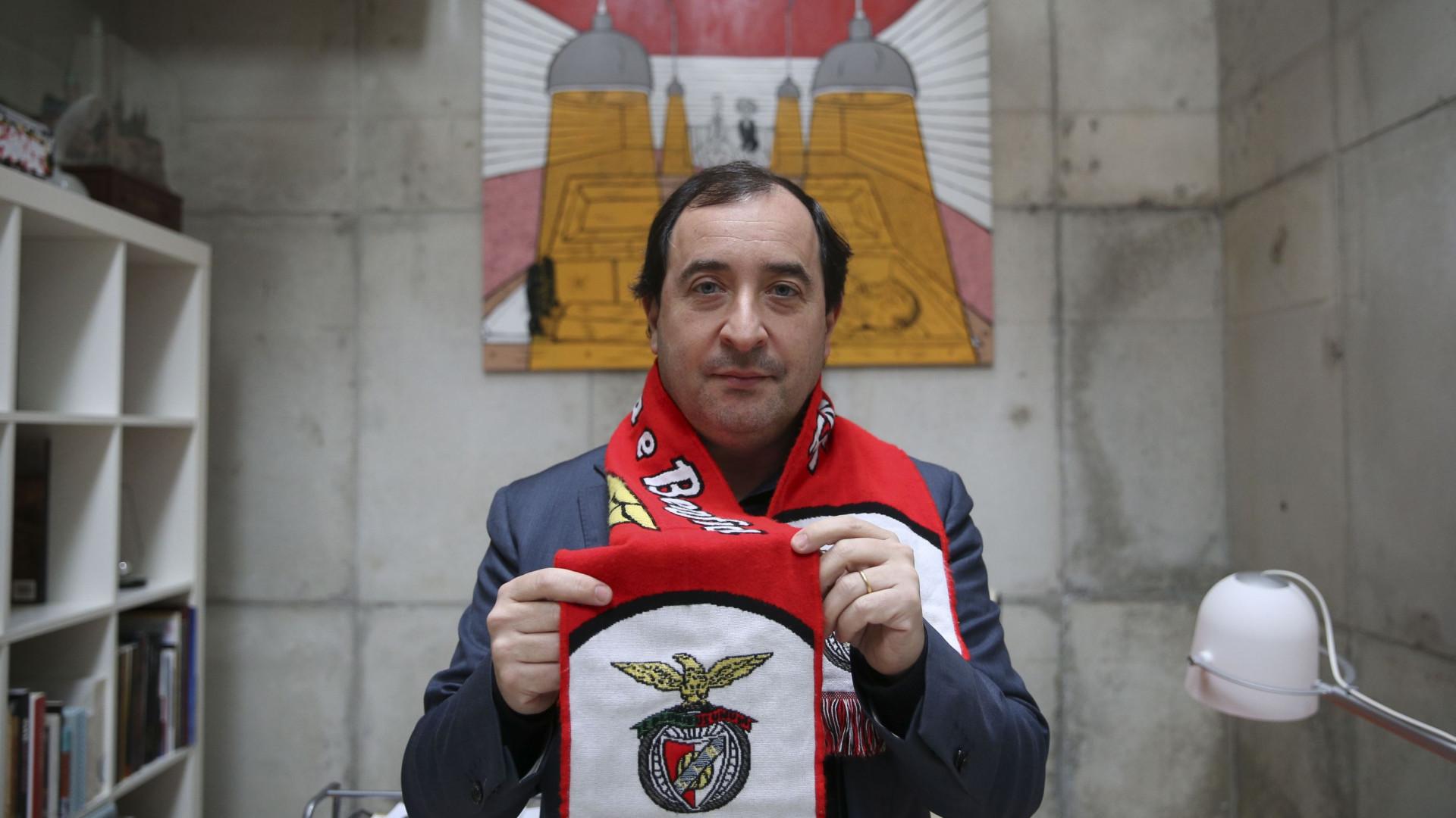 """Bruno Carvalho contra a """"importação macabra do ridículo"""" do Sporting"""
