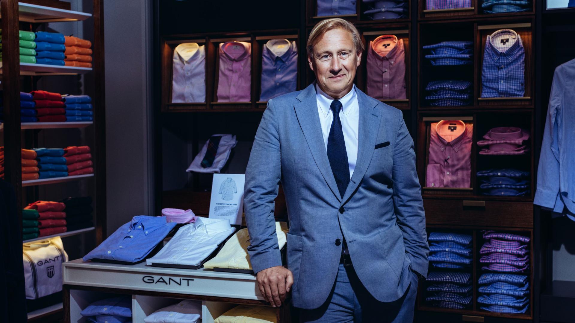 CEO da Gant: Da queda da Ricon, à aposta no mercado português