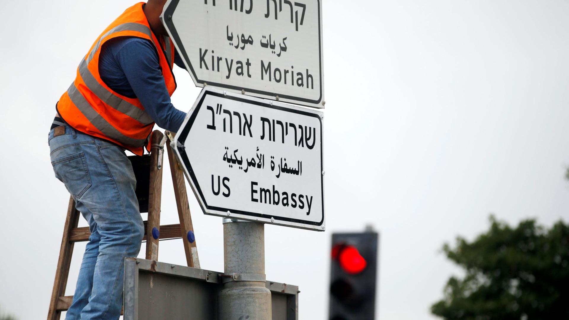Nova embaixada dos EUA em Jerusalém