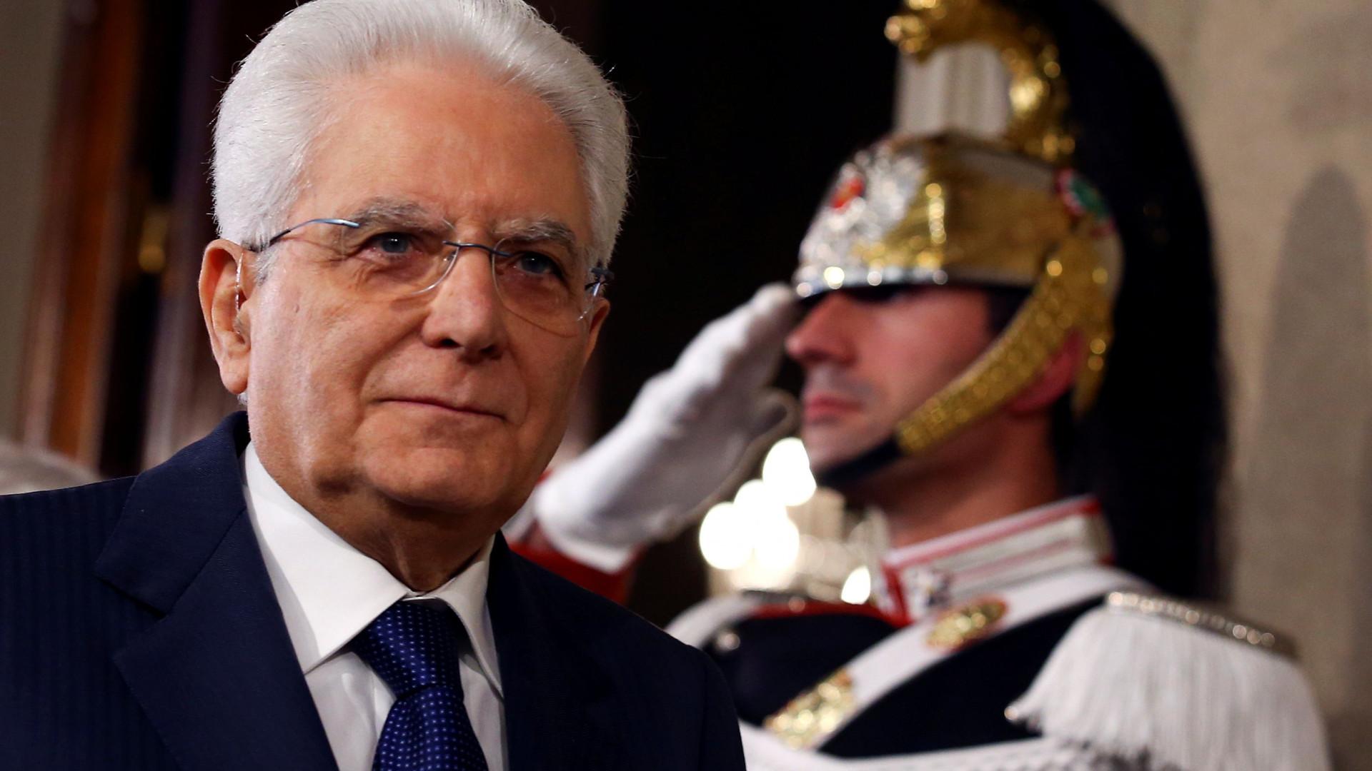 """Mattarella assegura que não """"colocou obstáculos"""" à formação de Governo"""